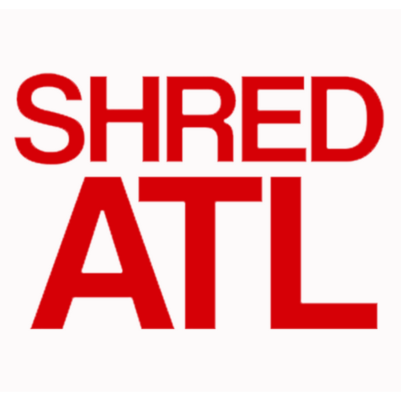 Shred Stickers - Shred ATL Red 6