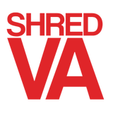 "Shred Stickers - Shred Va/Red 5""x4"" Single 