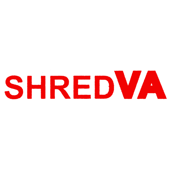 Shred Stickers - Shred Va Straight Red 8