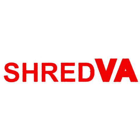 "Shred Stickers - Shred Va Straight Red 8""x1.5"" - Single"