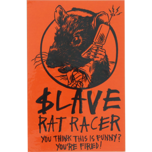 Slave Rat Racer Decal Single