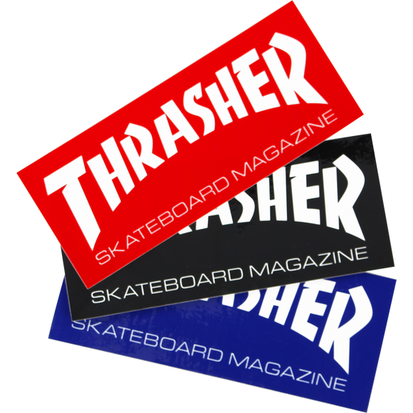 Thrasher Mag Logo Super Decal Single Assorted Colors