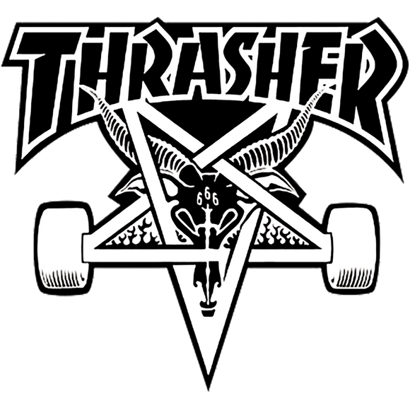 Thrasher Skategoat Decal Single Assorted Colors