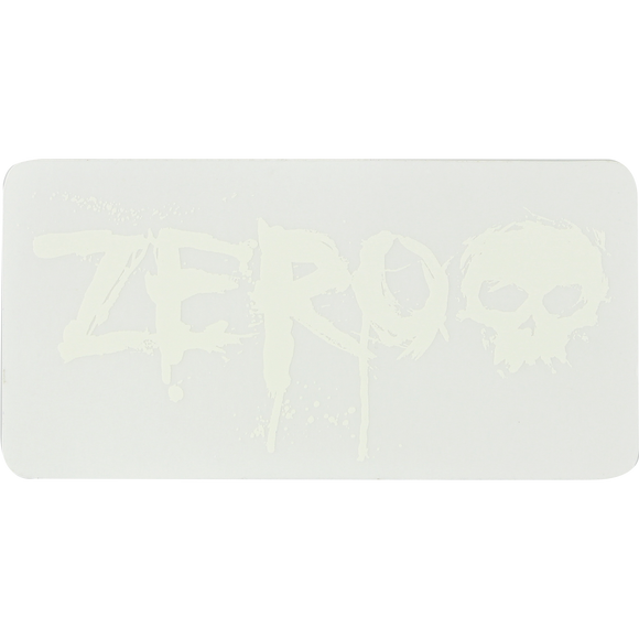 Zero Blood Clear Decal Assorted  Single