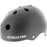 187 Pro Helmet - X-LARGE Matte Charcoal | Universo Extremo Boards Skate & Surf