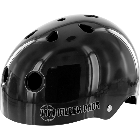 187 Pro Helmet - X-SMALL Gloss Black | Universo Extremo Boards Skate & Surf