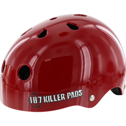 187 Pro Helmet - X-SMALL Red | Universo Extremo Boards Skate & Surf