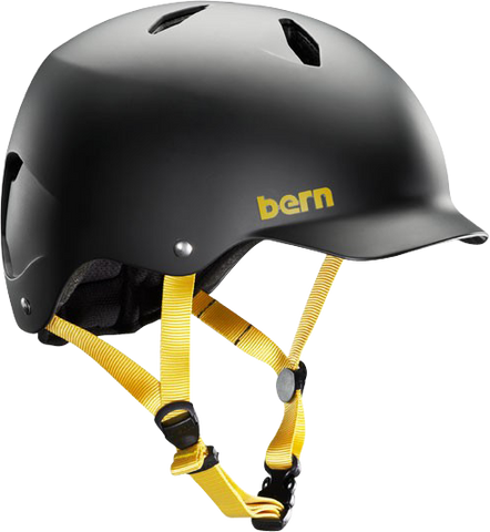 Bern Bandito Matte Black Medium/Large CPSC Skateboard Helmet
