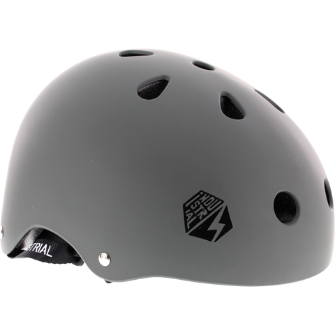 Industrial Certified Dark Grey Helmet LARGE | Universo Extremo Boards Skate & Surf