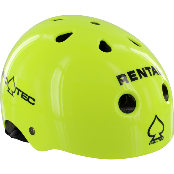 Protec Classic Rental - X-SMALL Gloss Yellow Helmet | Universo Extremo Boards Skate & Surf