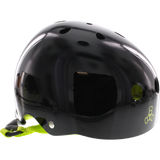 Triple 8 Helmet Black Gloss/Green - LARGE | Universo Extremo Boards Skate & Surf