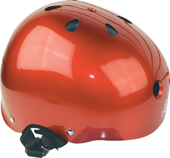 Triple 8 Helmet Red Metallic/Std.Liner LARGE | Universo Extremo Boards Skate & Surf