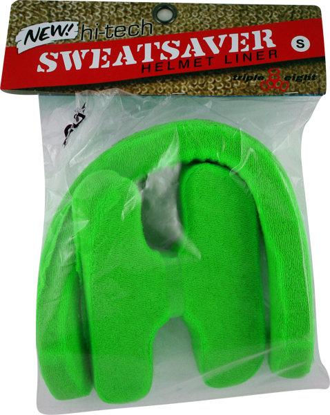 Triple 8 Sweatsaver Helmet Liner X-Small-Green| Universo Extremo Boards