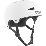 TSG Evolution Helmet SMALL/MEDIUM Satin White | Universo Extremo Boards Skate & Surf