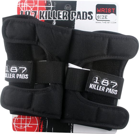 187 Wrist Guard Junior-Black