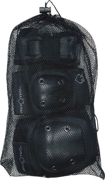 Protec Street Gear 3 Pack Bag Black