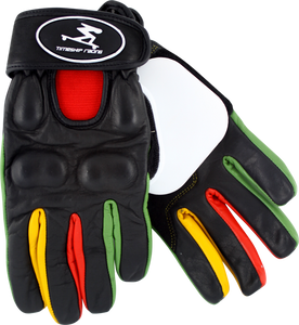 Timeship Kody Noble Slide Gloves L-Black/Rasta