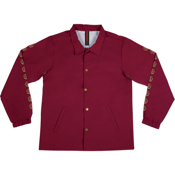 Independent Quatro Coach Windbreaker LARGE Cardinal Red | Universo Extremo Boards Skate & Surf