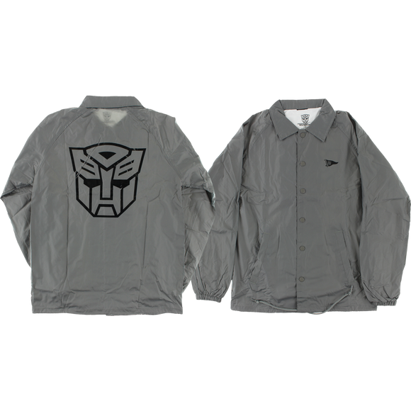 Primitive Autobots Coaches Jacket MEDIUM Grey | Universo Extremo Boards Skate & Surf