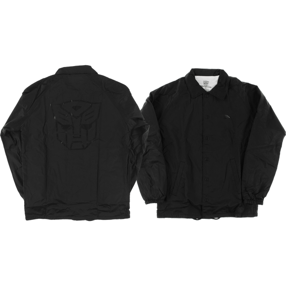 Primitive Autobots Coaches Jacket MEDIUM Black | Universo Extremo Boards Skate & Surf