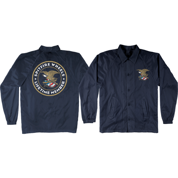 Spitfire Members Jacket X-LARGE Navy | Universo Extremo Boards Skate & Surf