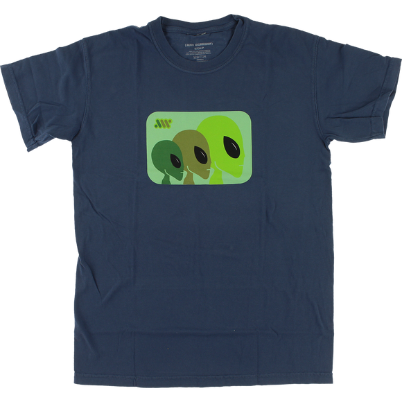 Alien Workshop Strobe T-Shirt - Size: LARGE Overdyed Midnight