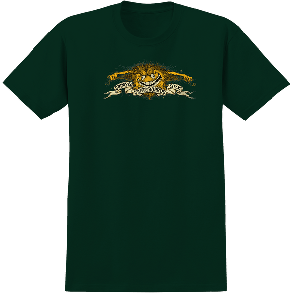Antihero Grimple Eagle T-Shirt - Size: SMALL Forest Green