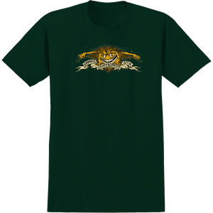 Antihero Grimple Eagle T-Shirt - Size: MEDIUM Forest Green