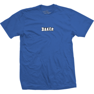 Baker Brand Logo T-Shirt - Size: X-LARGE Royal