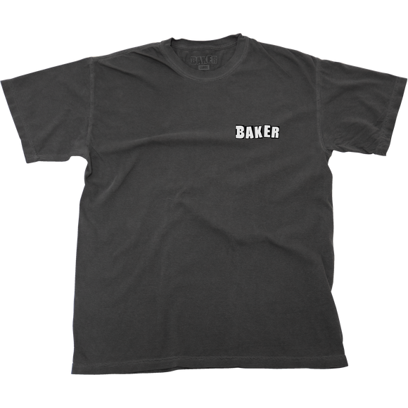Baker Uno T-Shirt - Size: X-LARGE Faded Black