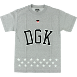 DGK Liberty T-Shirt - SMALL Athletic Heather | Universo Extremo Boards Skate & Surf