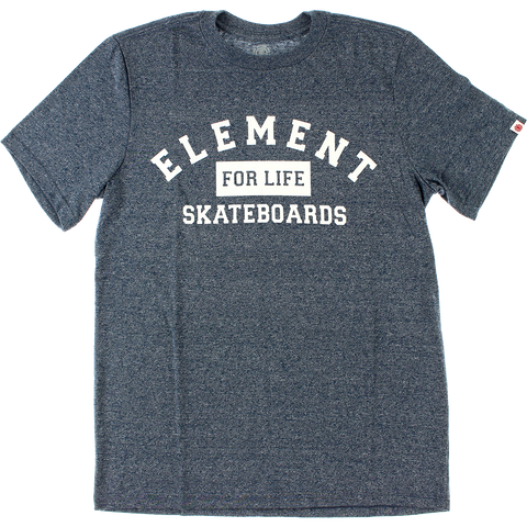 Element For Life T-Shirt - Size: SMALL Midnight Blue