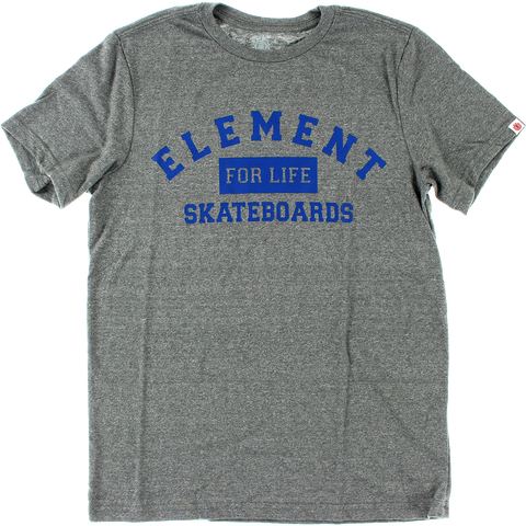 Element For Life T-Shirt - Size: SMALL Heather Grey