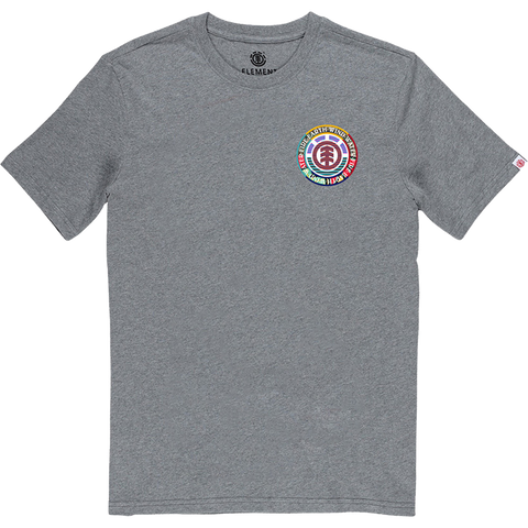 Element Prismatic T-Shirt - Size: SMALL Heather Grey