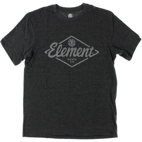 Element Rhombus T-Shirt - Size: SMALL Charcoal Heather