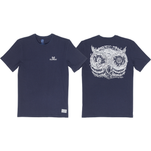 Element Too Late In The Owl T-Shirt - Size: MEDIUM Eclipse Navy