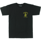 T-Shirt 5boro Don'T Tread On Me  Short Sleeve M-Black/Yellow - Universo Extremo Boards
