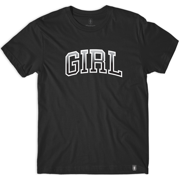 Girl Hombre Arch T-Shirt - Size: MEDIUM Black