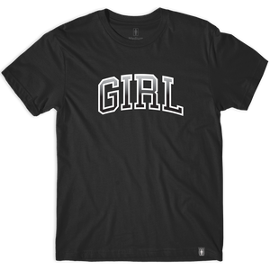 Girl Hombre Arch T-Shirt - Size: LARGE Black