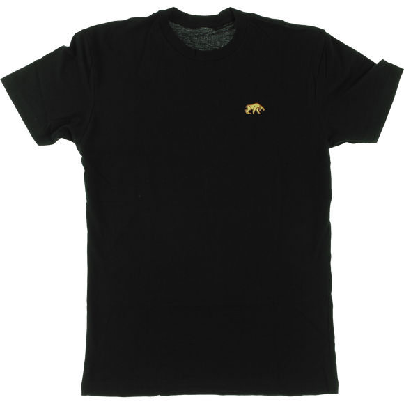 Habitat Saber Tooth Embroidered T-Shirt - Size: SMALL Black