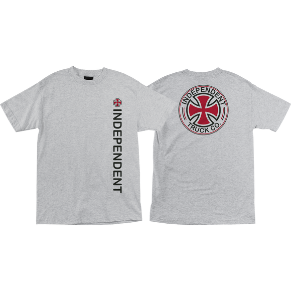 Independent Directional T-Shirt - Size: SMALL Athletic Heather