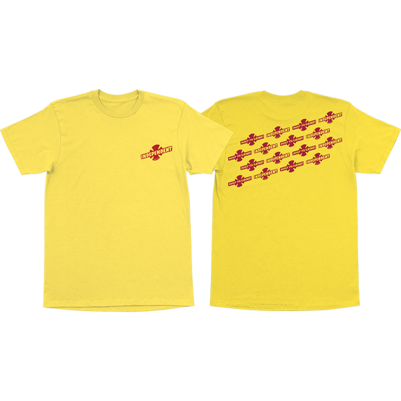 Independent Stampede T-Shirt - Size: MEDIUM Yellow