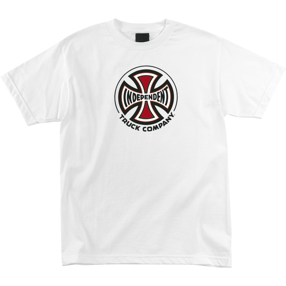 Independent Truck Co T-Shirt - Size: MEDIUM White