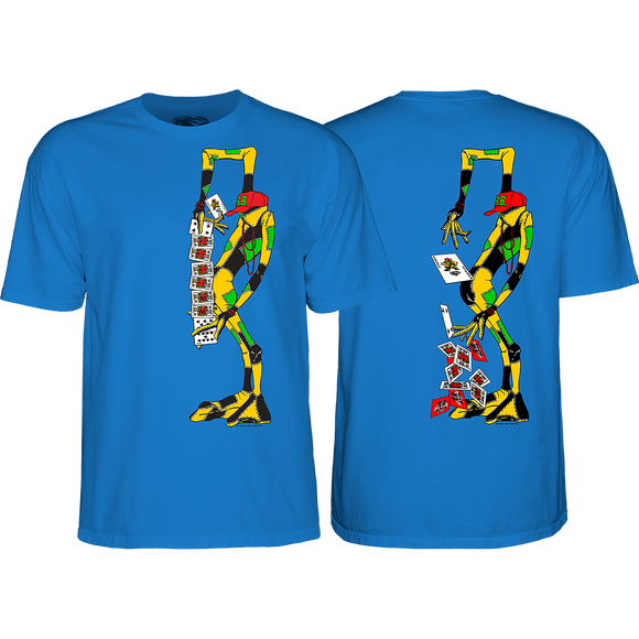Powell Peralta Ray Barbee Rag Doll T-Shirt - Size: X-LARGE Royal