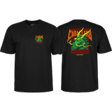 Powell Peralta Cab Street Dragon T-Shirt - Size: LARGE Black | Universo Extremo Boards Skate & Surf