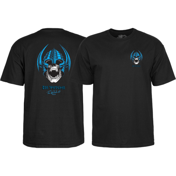 Powell Peralta Welinder Skull T-Shirt - Size: SMALL Black