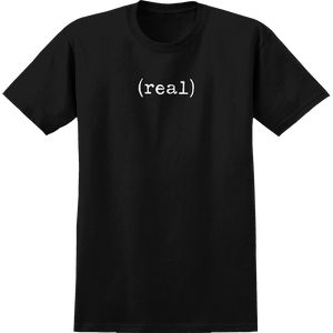 Real Lower T-Shirt - Size: X-LARGE Black/White