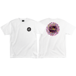 Santa Cruz Other Slime Balls T-Shirt - Size: X-LARGE White