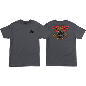 Santa Cruz Natas Panther T-Shirt - Size: MEDIUM Charcoal