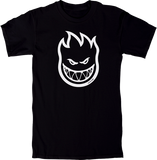 Spitfire Bighead Short Sleeve T-Shirt - S-Black/White | Universo Extremo Boards Skate & Surf
